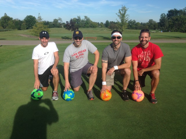 SFC #29:  Foot Golf at Fox Hills, Dinner at Karl's Cabin