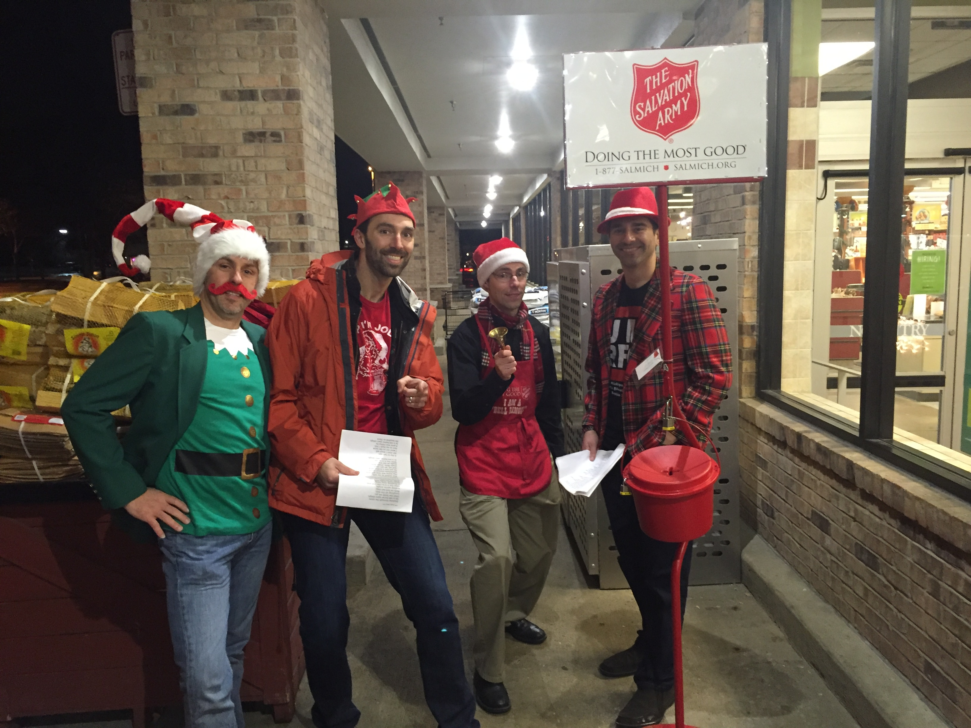 SFC 45: Salvation Army Bell Ringing and Gingerbread House at Witches Hat