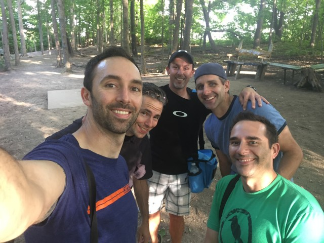 SFC #54:  Disc Golf in Northville, Center Street Grille for dinner/drinks