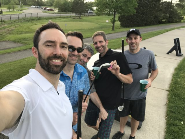 SFC #62:  Belle Isle Golf Games, Detroit Yacht Club for dinner