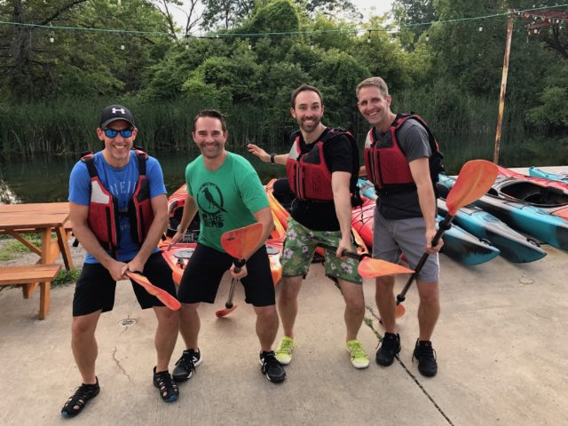 SFC #64:  Kayaking in Detroit canals, Atwater Brewery in Birmingham for dinner/drinks