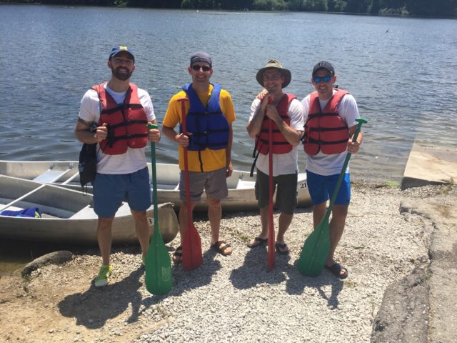 SFC #63:  Canoeing in Newburgh Lake, Lakepointe Yacht Club for dinner