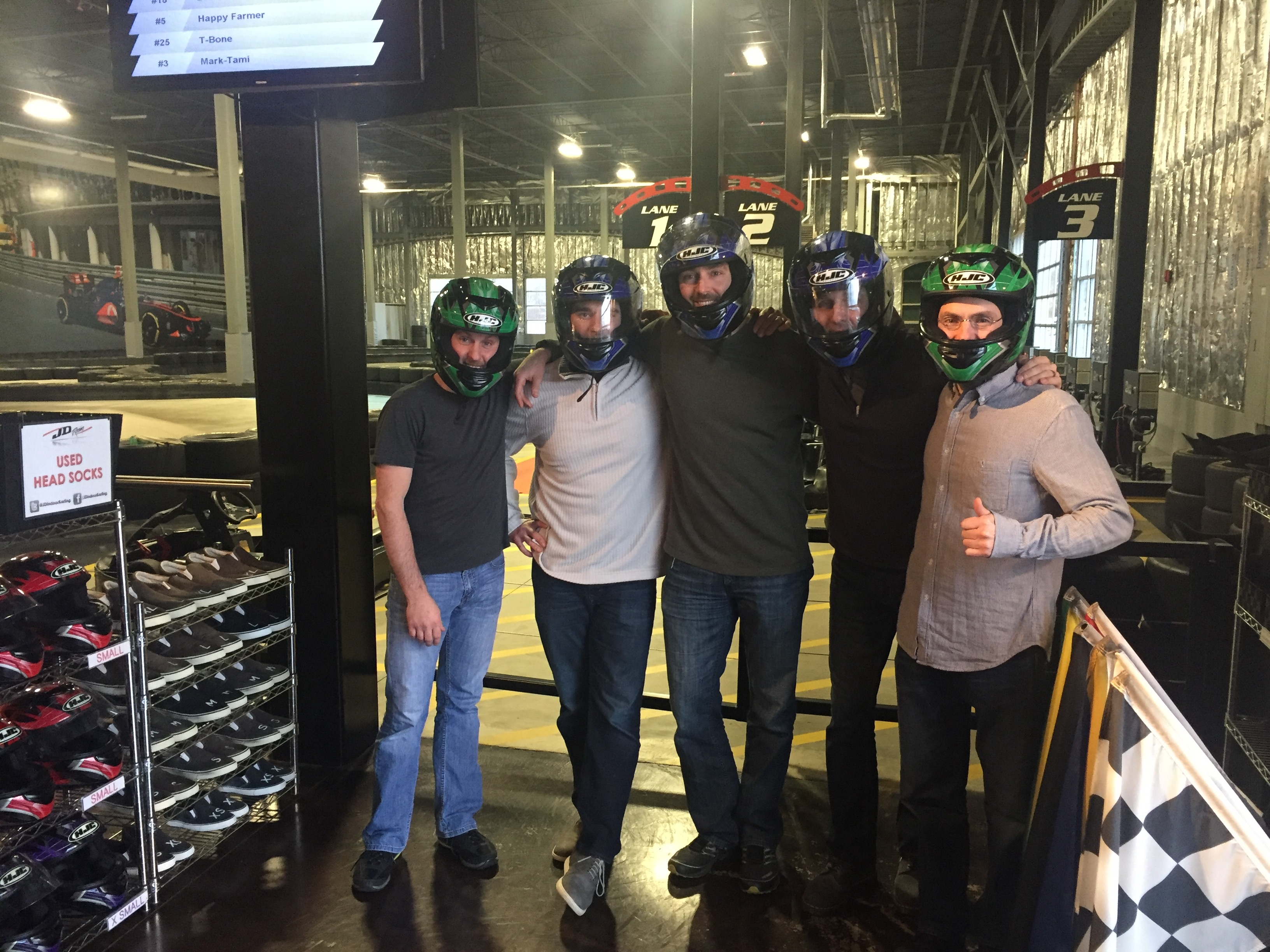 SFC 73 Black Rock, JD Racing Indoor Karting, Novi Escape Room