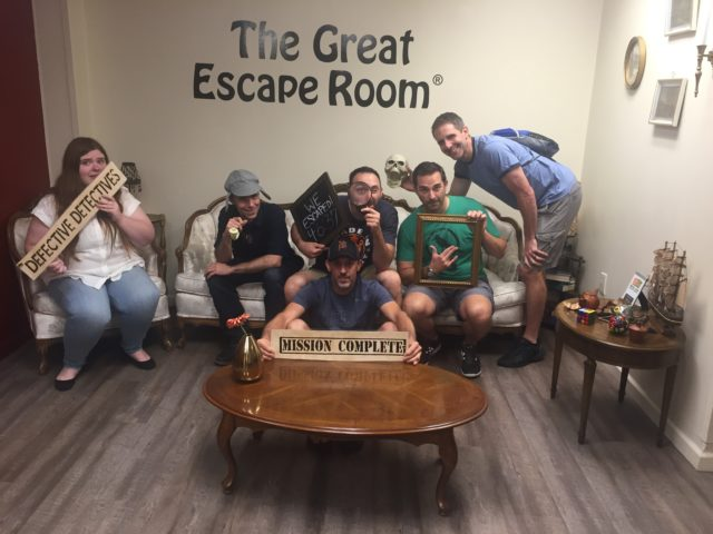 SFC #77:  The Great Escape Room in Royal Oak, Hop Cat for Dinner