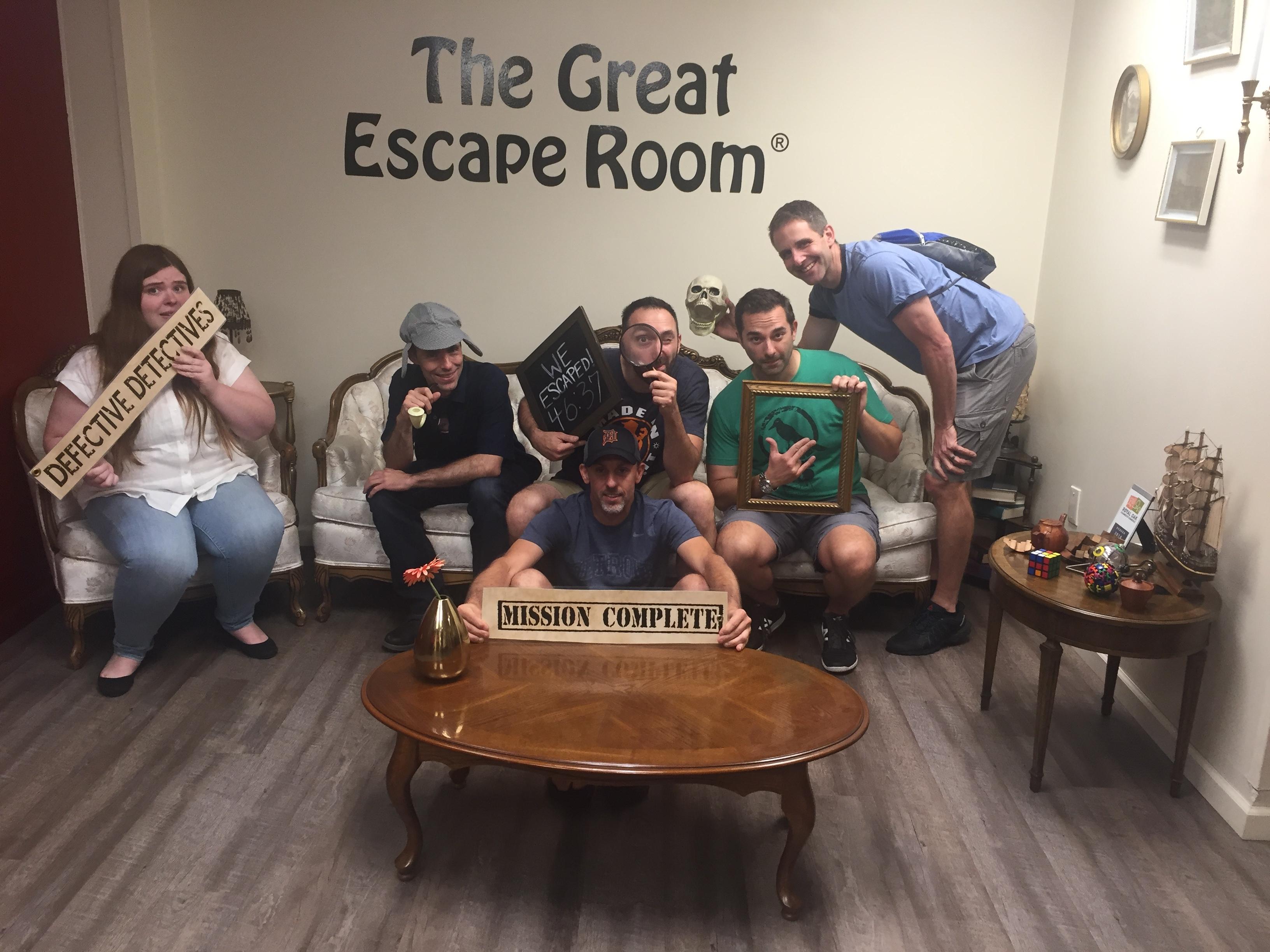 SFC 77 The Great Escape Room