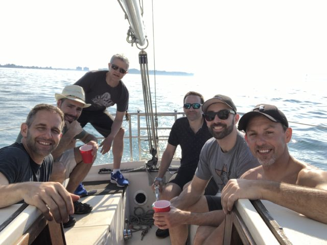 SFC #88: Sailboating on the Detroit River; Dinner and Drinks and DYC