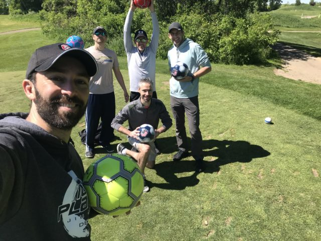 SFC #98: Foot Golf at Fox Hills, Lunch at Max and Bella's Smokehouse in Plymouth
